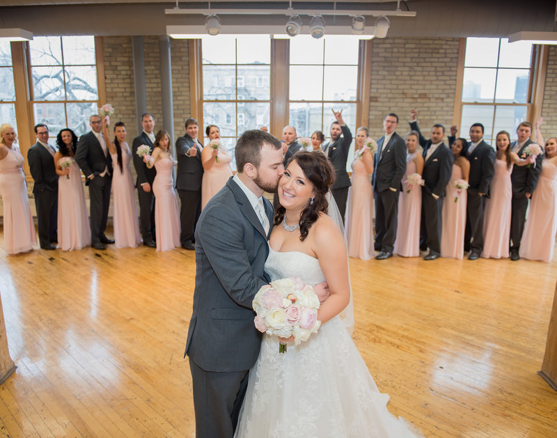 Fargo Plains Art Museum Wedding Photo space and reception Venue Kris Kandel Photographer (9)