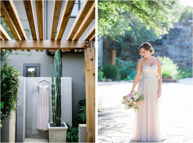 sparkly austin texas wedding at ladybird johnson wildlife center