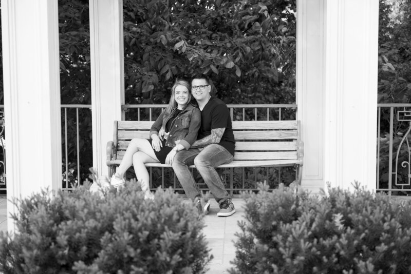 mt vernon gardens couples photographer