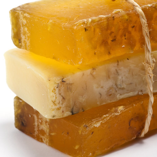 natural mp stack honey soaps