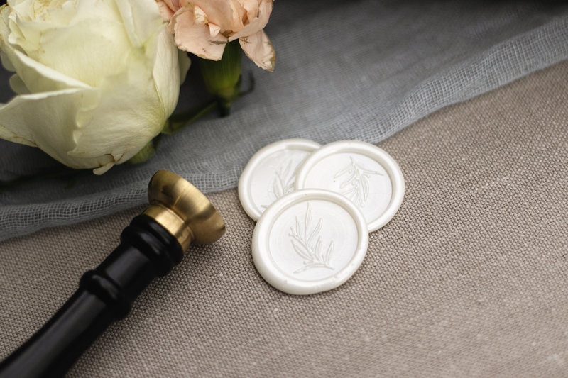 Wax Seals - the perfect sealing element for any invitation.