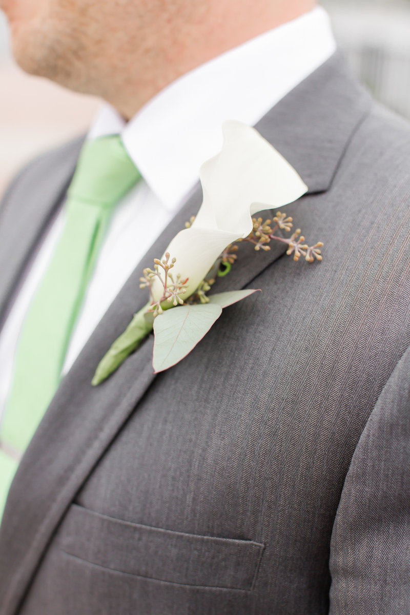 Boutonniere  for spring wedding