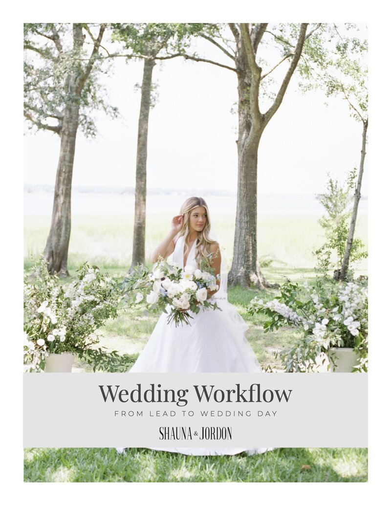 Wedding Workflow Template Full Image