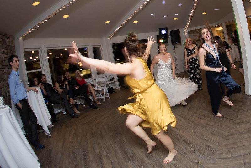 fun reception shots