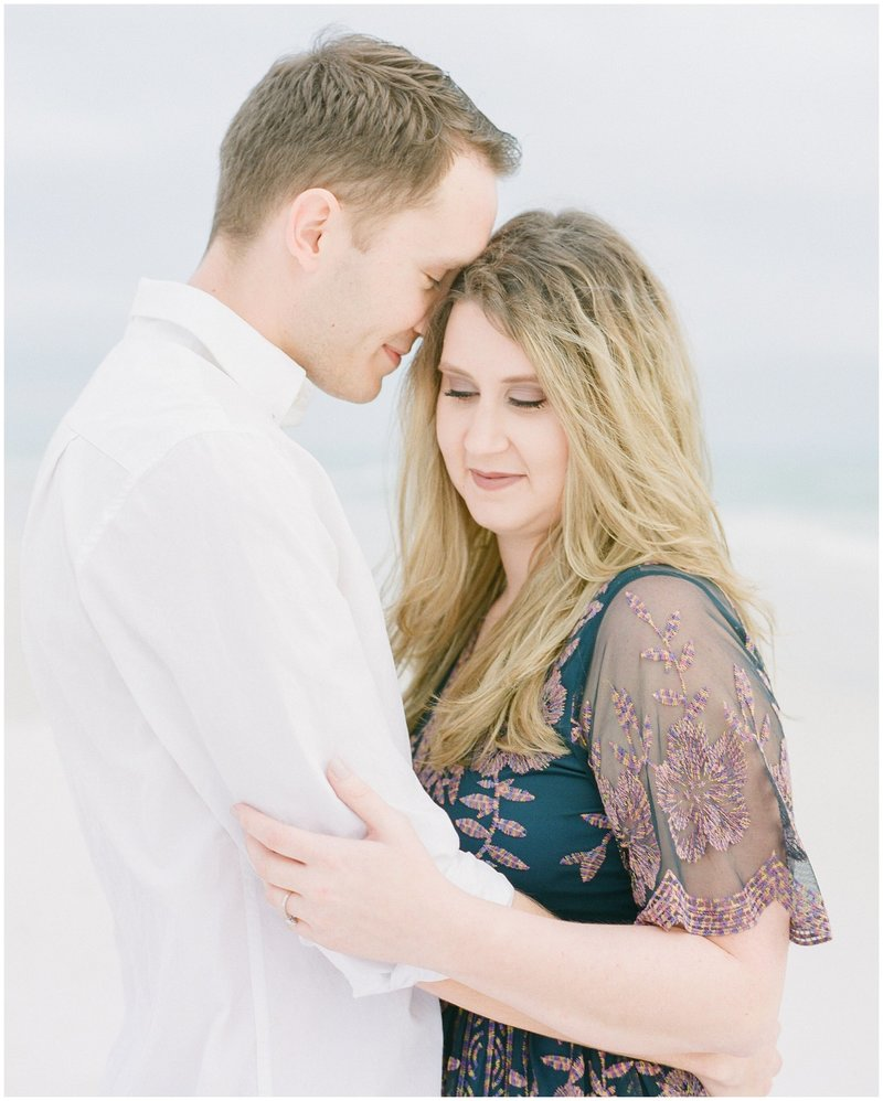Engagement Session at Grayton Beach State Park Santa Rosa Beach Florida