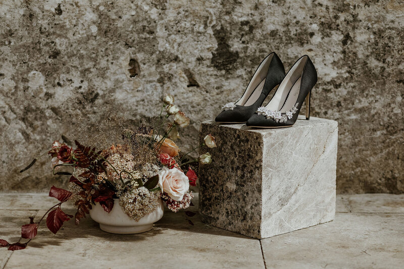 Wedding Stylist - Bridal Shoes and Flowers