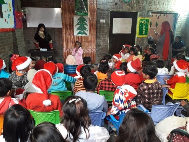 Christmas at LHEE school 2018