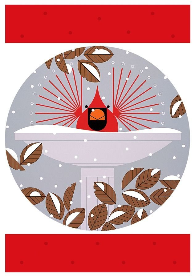Cardinals by Charley Harper in the card set.