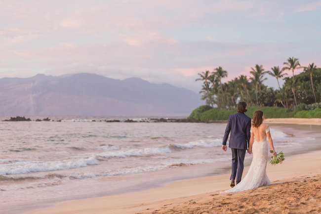 beach wedding venues in Maui, Hawaii