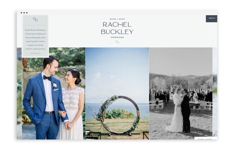 Rachel Buckley Wedding Photographer - Custom Brand Logo and Showit Website Design by With Grace and Gold - Showit Designer, Designers, Theme, Themes, Template, Templates, Best -34