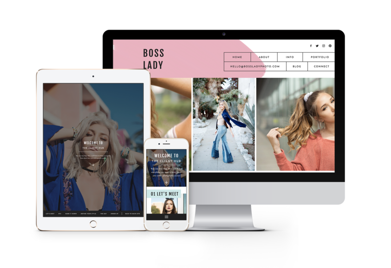 Modern, fun easy to customize drag and drop website templates for creatives