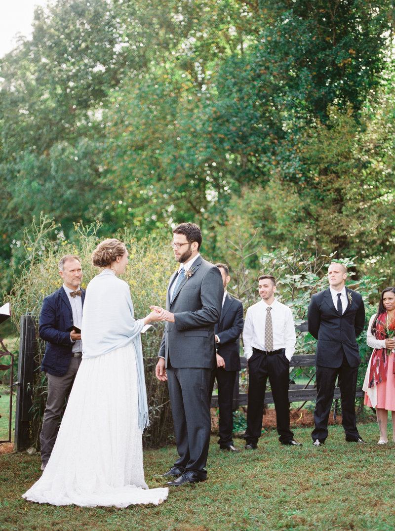 North Alabama Intimate Wedding