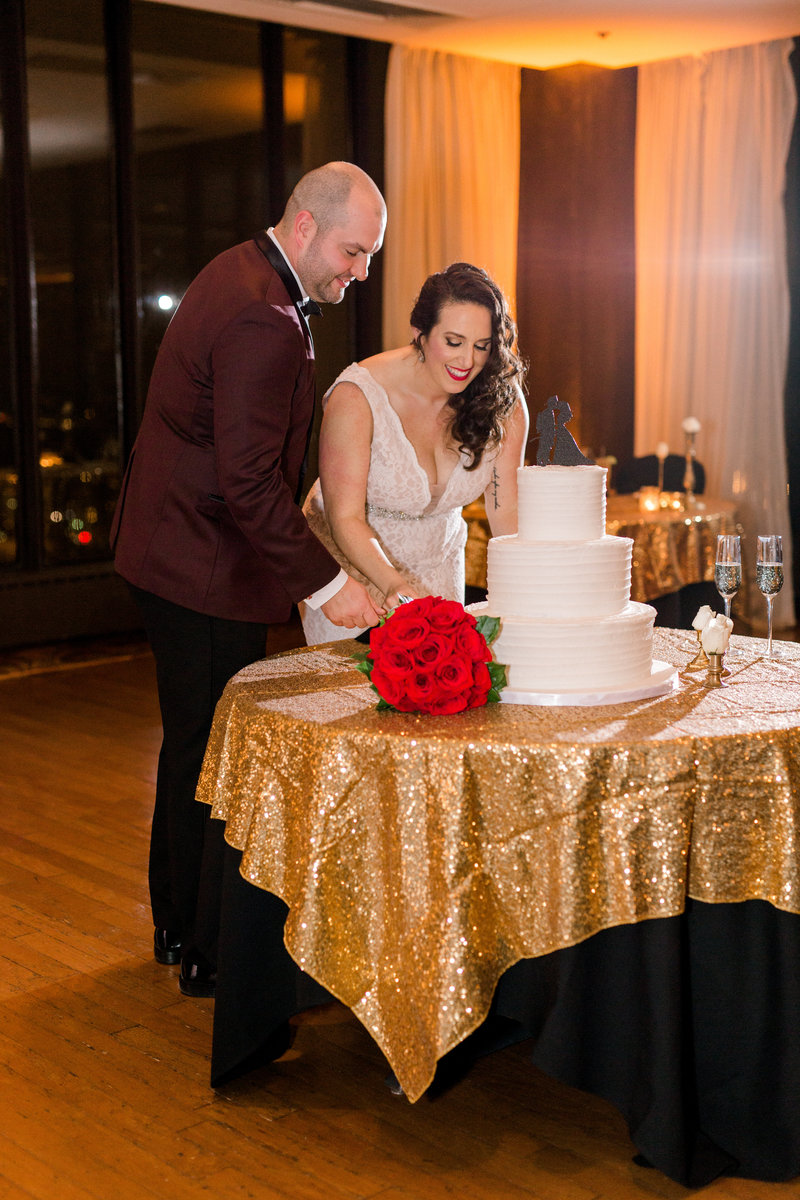 Embassy Club Des Moines Ia Black Tie Wedding -6239