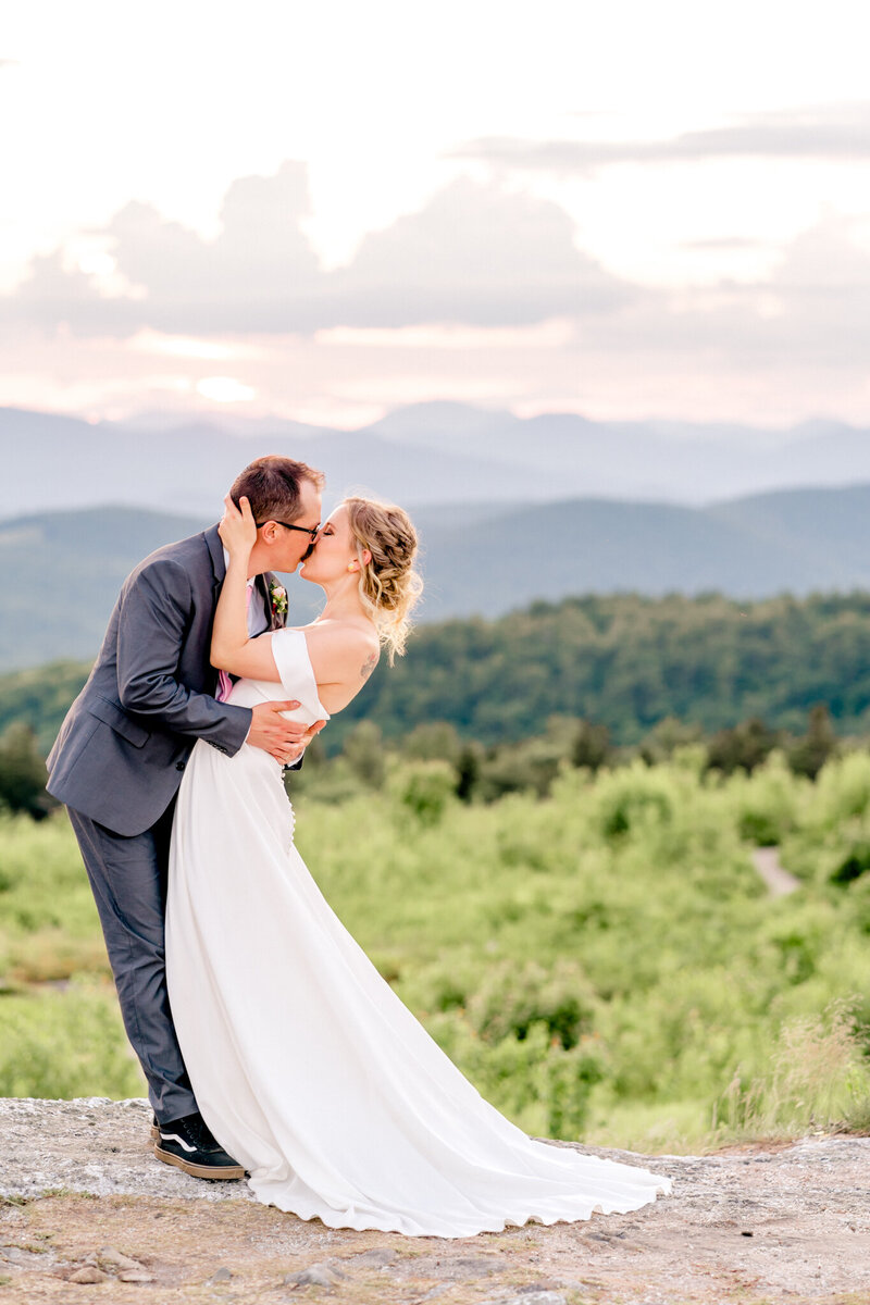 Maine Elopement Packages | Mountain elopement