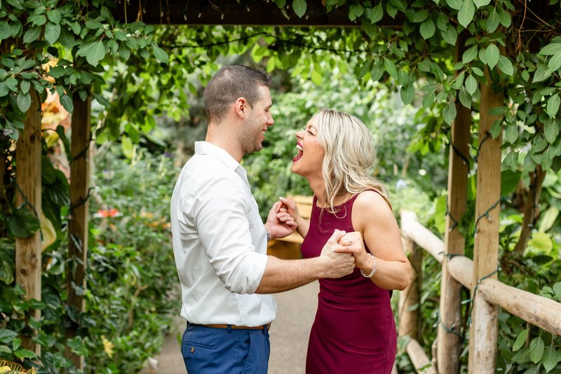 Cambridge Butterfly Conservatory Engagement Photography | Dylan and Sandra Photography 100