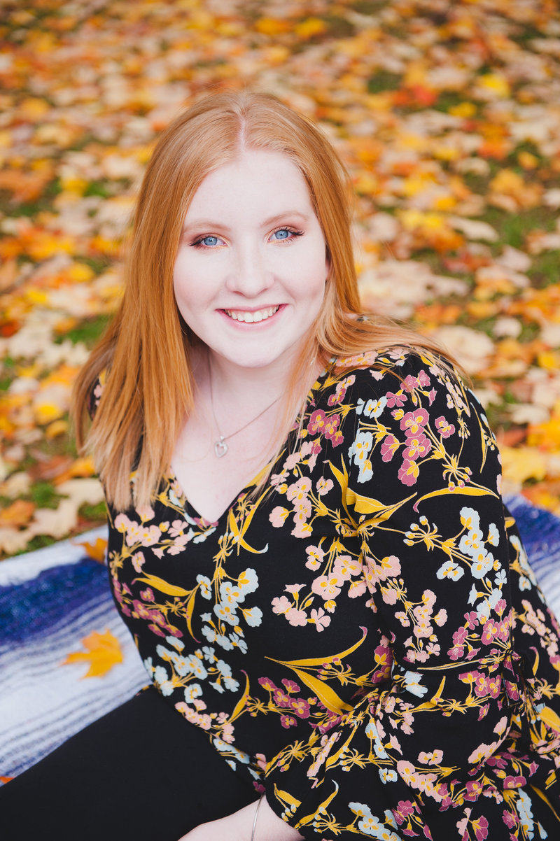Tacoma-senior-fall-Wright-Park-Amanda-Howse