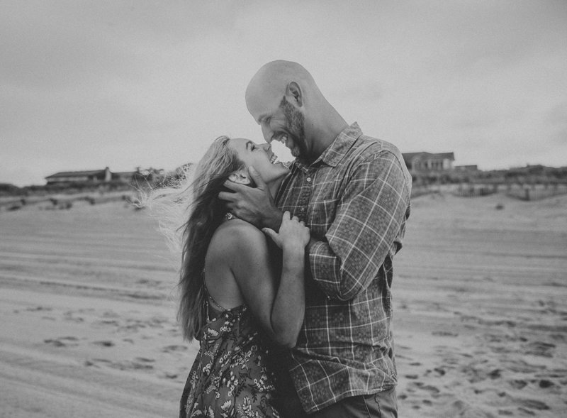 Stormy September Summer Evening Engagement Session at Stone Harbor Beach, Stone Harbor New Jersey_0129