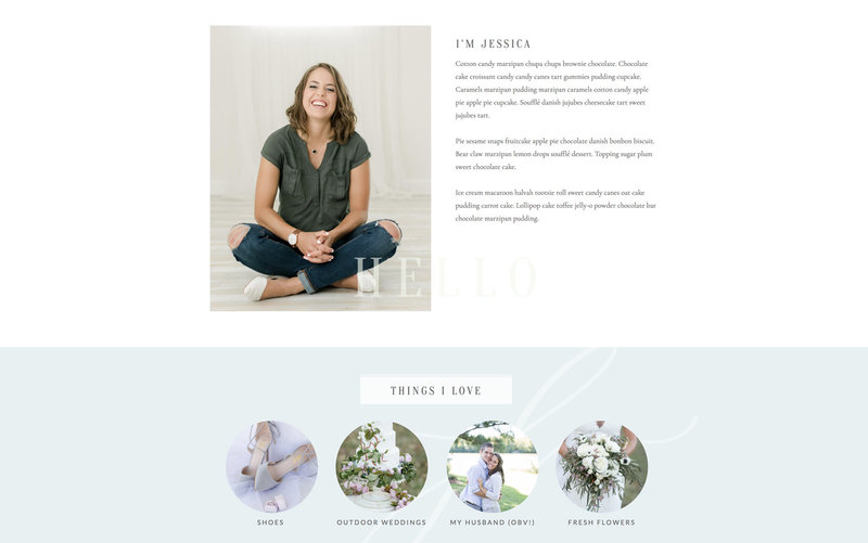 Handcrafting Heartfelt Brand & Website Designs for Female Creatives |  Showit | Showit Templates | by Viva la Violet | Jessica Lapp Photography