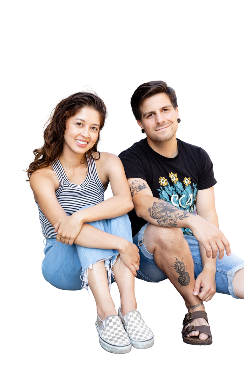 Meet Jasmine and Chris of Sweet Simple Vegan