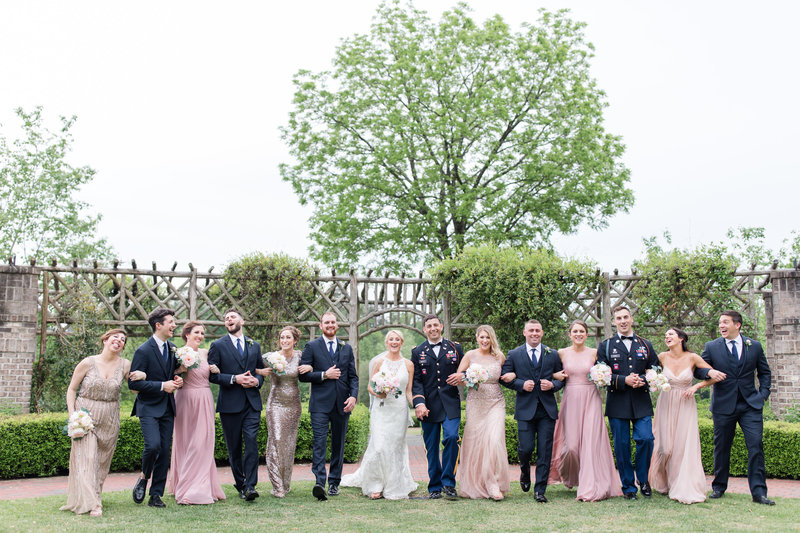 Elegant Military Wedding at the Fair Barn in Pinehurst NC and Pinehurst Arboretum