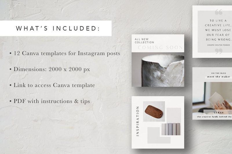 Instagram Posts Graphic Display Template2