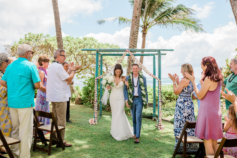wedding photos from tiki moon villas