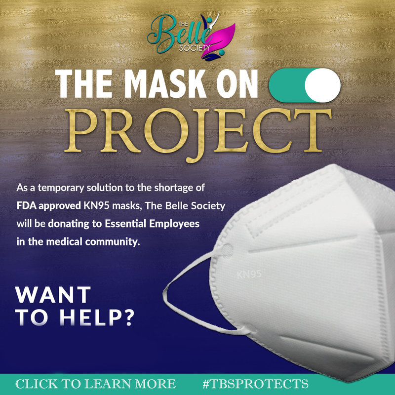 PURCHASE KN95 MASK SO WE CAN DONATE TWO