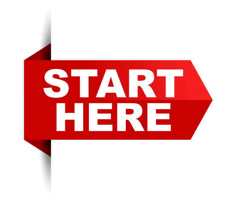 Start here sign for tax preparation quote