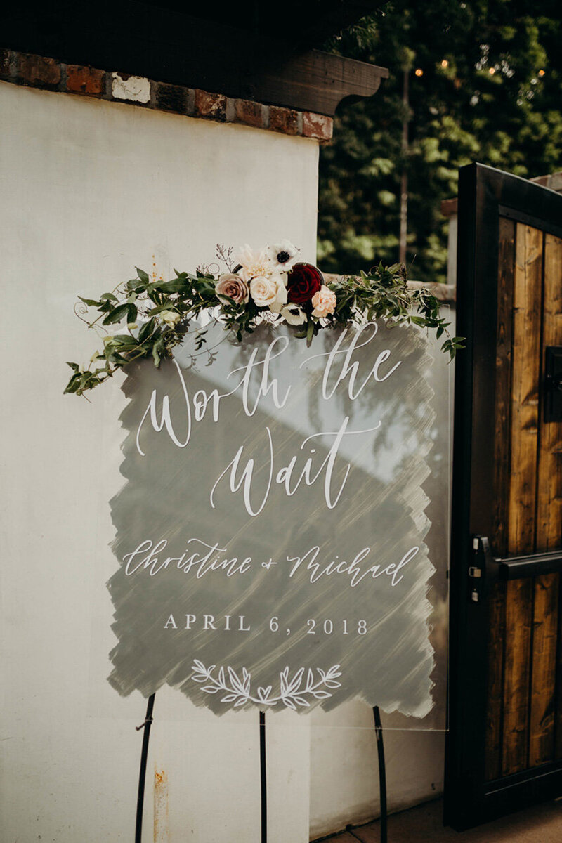 pirouettepaper.com | Wedding Stationery, Signage and Invitations | Pirouette Paper Company | Welcome + Unplugged Signs 06