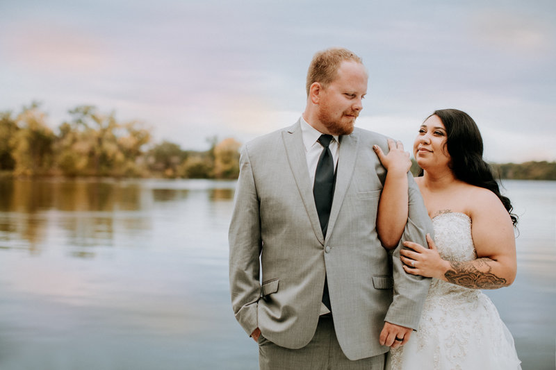 Big Stone Lake Wedding