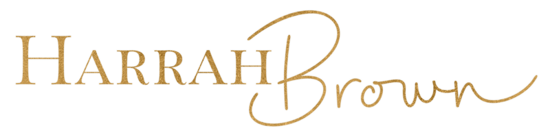 HarrahBrown-GoldFoilLogo