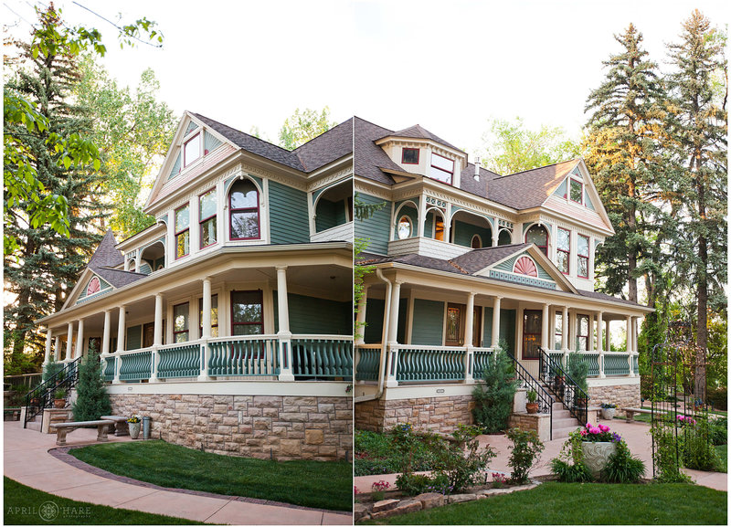 Gorgeous Painted Victorian Home Wedding Venue Tapstry House Fort Collins CO