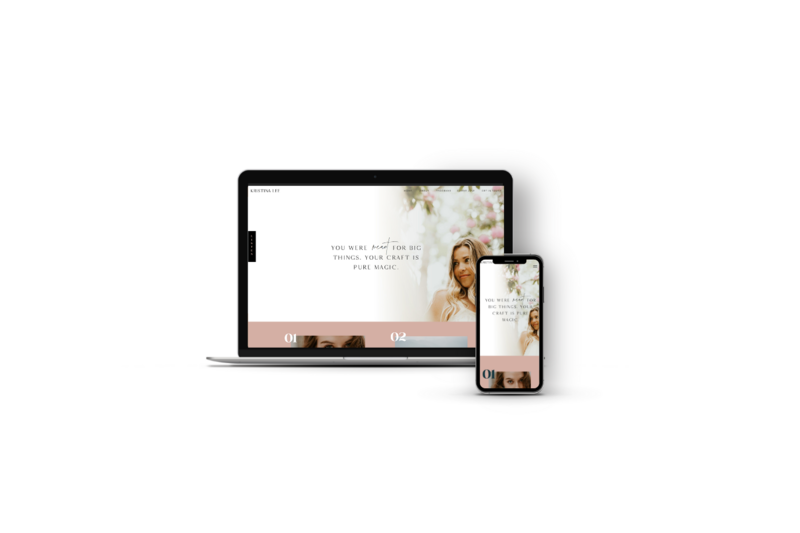 Showit Website Design and Website Templates by Becca Luna
