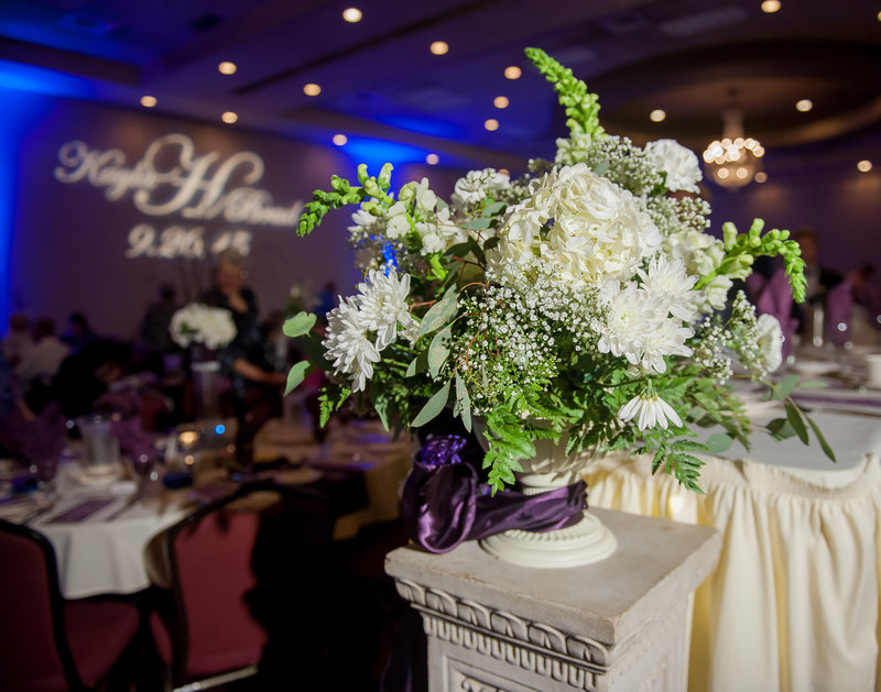 ramada plaza wedding reception room details kris kandel