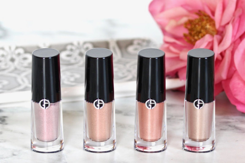 Giorgio Armani Eye Tint Review and Swatches  - 1