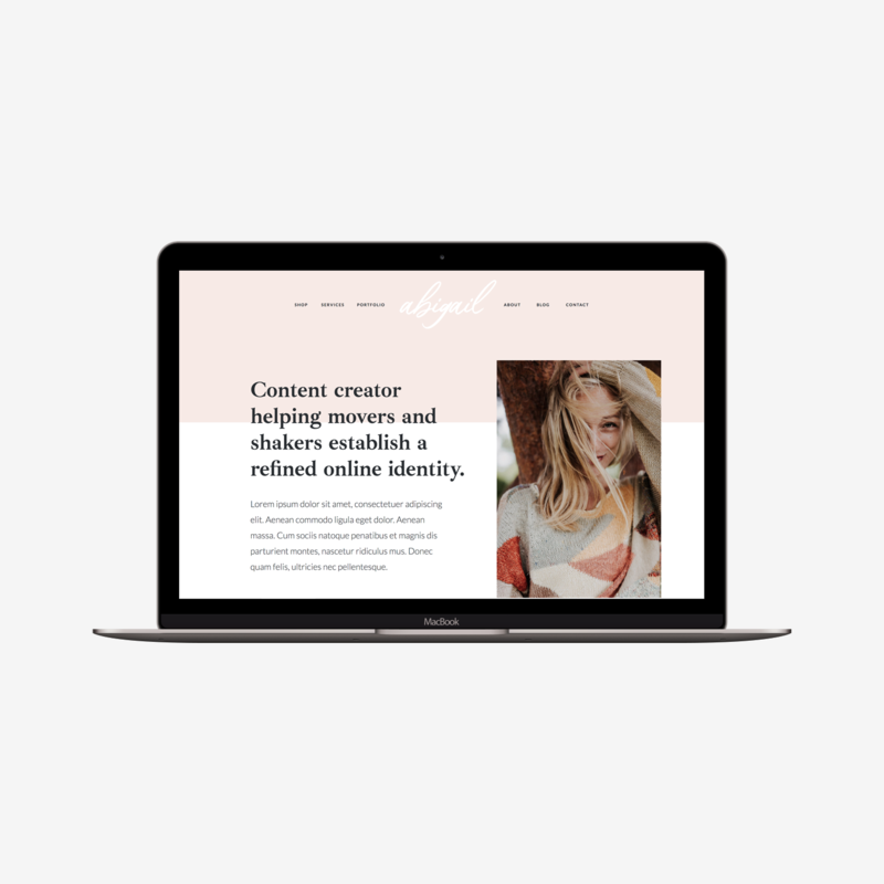 The Roar Showit Web Design Website Template Abigail Macbook Image.png