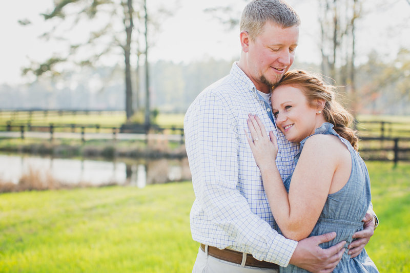 Jennifer B Photography-Engagement Session Southern Pines, NC