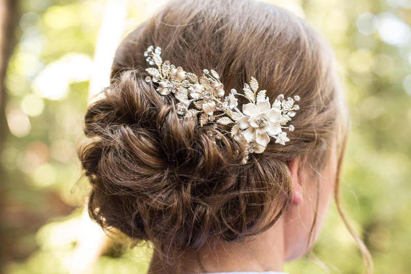 wedding details, wedding hairpiece , wedding bridal hair