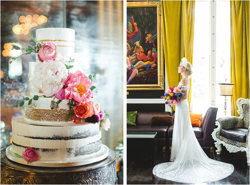 colorful whimsical wedding at The Mansion on Forysth