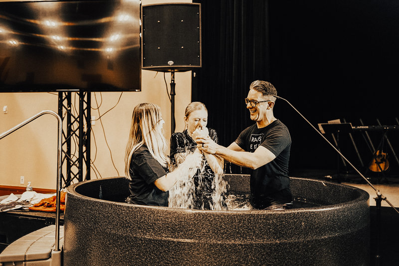 Baptisms at Mission Church