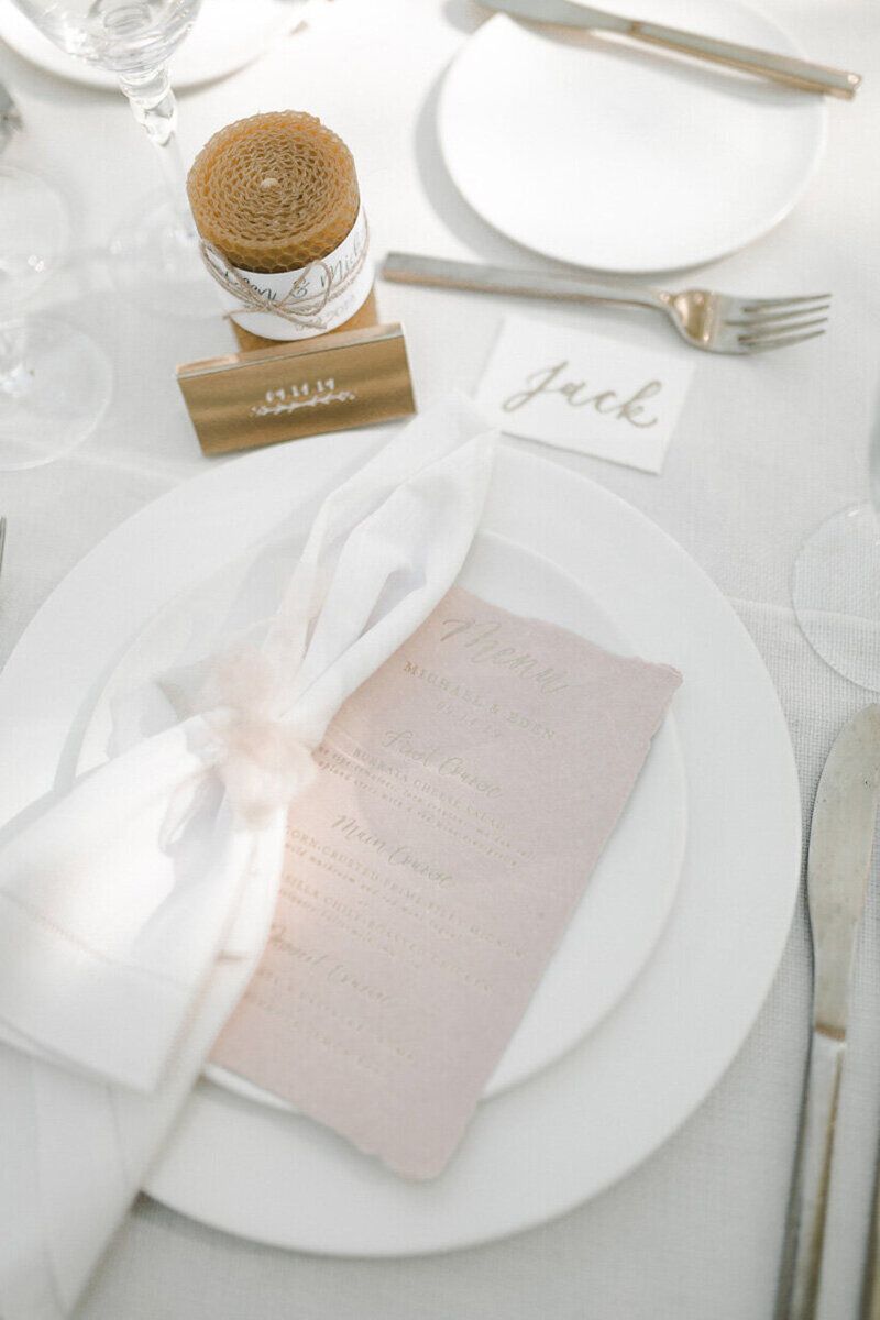 pirouettepaper.com | Wedding Stationery, Signage and Invitations | Pirouette Paper Company | Menus + Programs 30