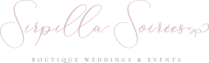Wedding planner Sirpilla Soirees based in Cleveland Ohio