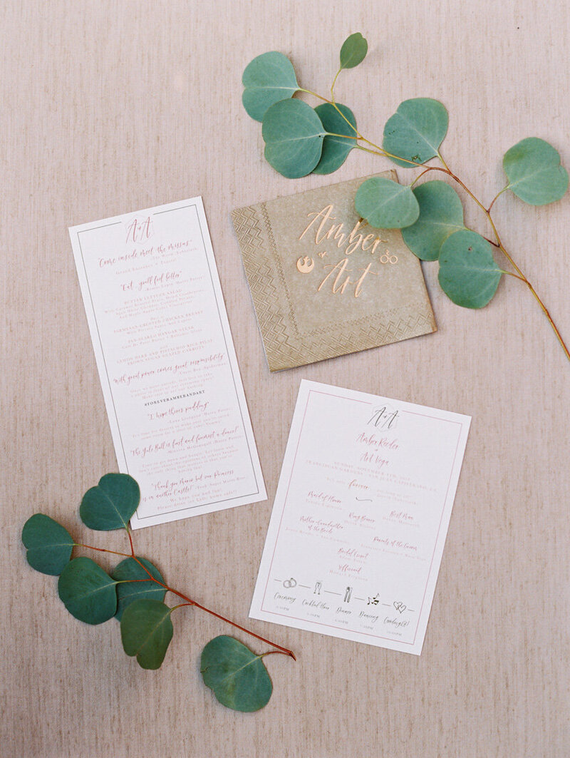 pirouettepaper.com | Wedding Stationery, Signage and Invitations | Pirouette Paper Company | Menus + Programs 57