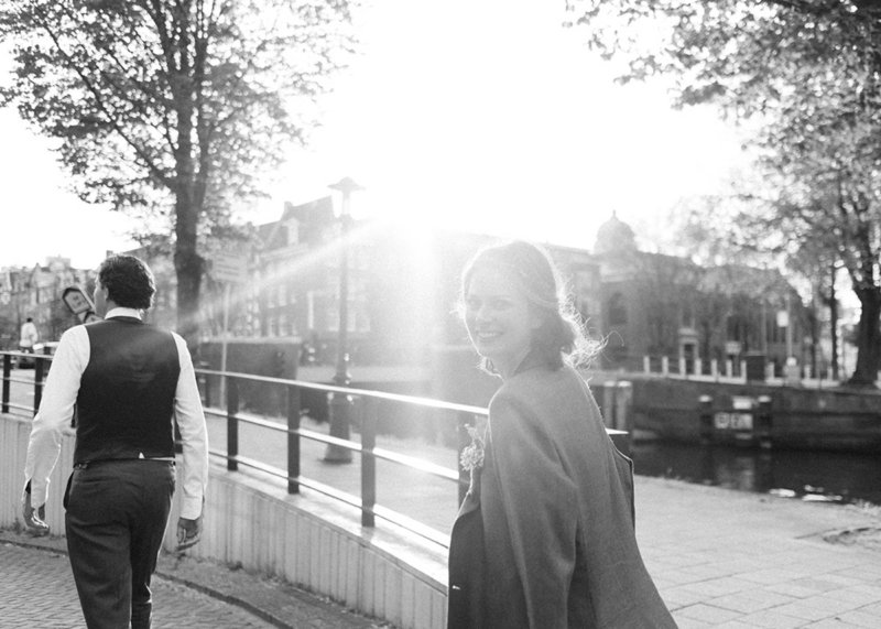 Laura & Pieter - Amsterdam wedding photographer elopement fine art  29