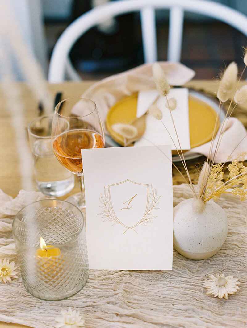 pirouettepaper.com | Wedding Stationery, Signage and Invitations | Pirouette Paper Company | Table Numbers 63