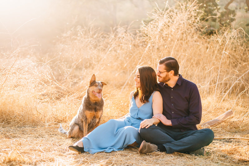 A photo from Marianne and Joe's own engagement session