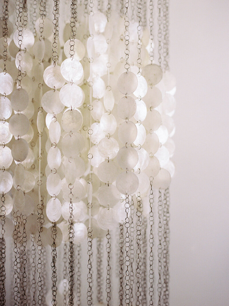 Chandelier in Miami Bridal Suite