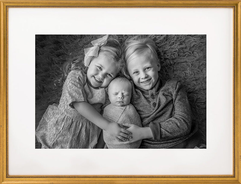Newborn Photography with Siblings | Salt Lake City, Utah
