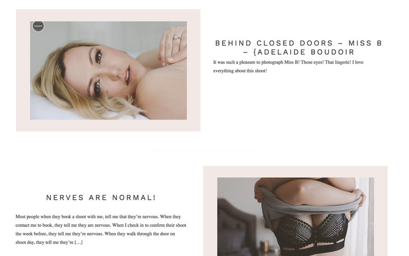 Handcrafting Heartfelt Brand & Website Designs for Female Creatives |  Showit | Showit Templates | by Viva la Violet | Be.Boudoir