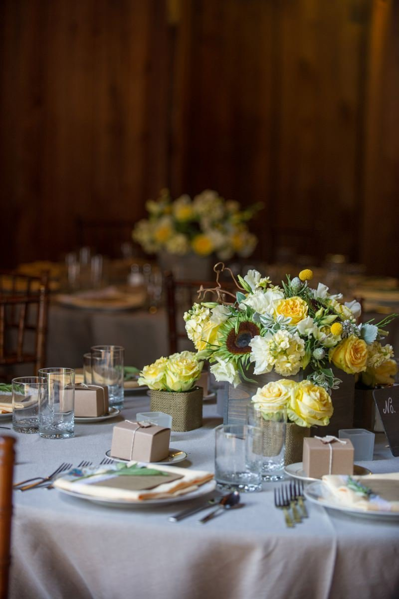 Rustic daytime wedding at The Barns at Wesleyan Hills in Middletown, CT